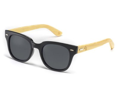 Wayfarer Fit Bamboo Black