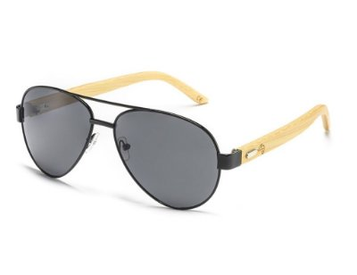 Aviator Bamboo Black