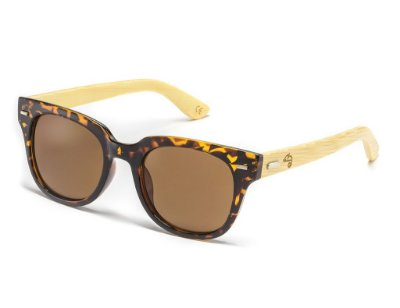 Wayfarer Fit Bamboo Turtle