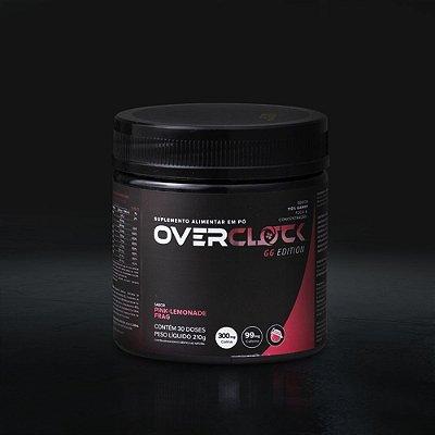 Bebida Overclock GG - Pote 30 doses - Pink Lemonade