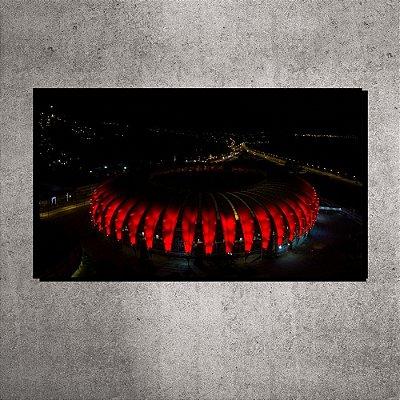 Imagem Impressa - Pequena - Estádio Beira-Rio - Imagem aérea  - 60cmx20xcm. BRIP4