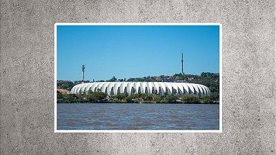 Quadro - Estádio Beira-Rio - BR10- 90cmx58cm.