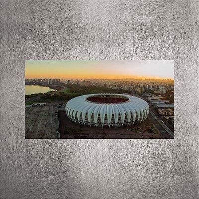 Imagem impressa - Imagem Aérea - Estádio Beira-Rio - BRI03 - 90cmx48cm.