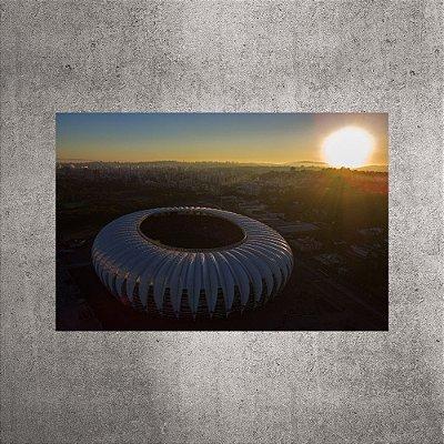 Imagem impressa - Imagem Aérea - Estádio Beira-Rio - BRI06 - 90cmx60cm.