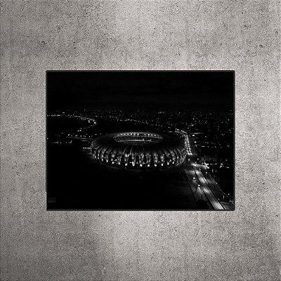 Imagem Impressa - Estádio Beira-Rio - Imagem aérea Preto e Branco - 90cmx60xcm.