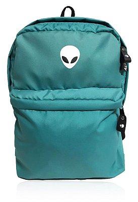 Mochila Alien Green Water com suporte para Notebook