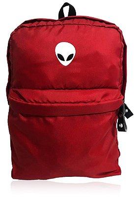 Mochila Alien Red com suporte para Notebook