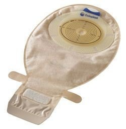 Bolsa para Estomas Intestinais (colostomia; ileostomia) SenSura - peça única - drenável transparente - Caixa com 10 Unidades -  Coloplast -15206