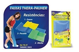 Faixa Elástica Thera-Pauher - Ortho Pauher