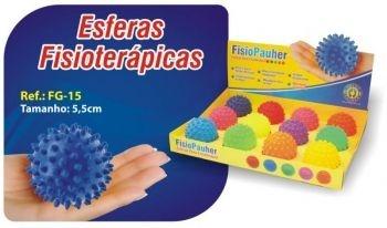 Esfera para Fisioterapia FisioPauher Tamanho 5,5cm - Ortho Pauher