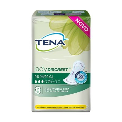 Absorvente Tena Lady Discreet Normal 8 unidades