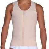 Camiseta Masculina com Fecho Frontal Chocolate - Nova Forma - 14017