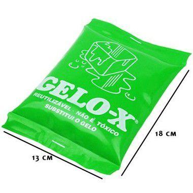 Kit Gelo Reutilizável Flexível Grande GELOX 10un - Termogel