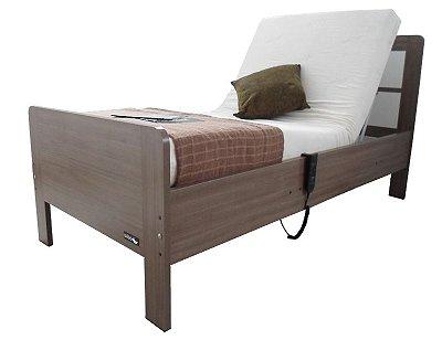 Cama Clássica Articulada Residencial 2 Movimentos Solteiro com Colchão e Cabeceira Wise Comfort C2