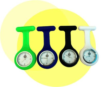 Relógio de Silicone Portátil - Ortho Pauher