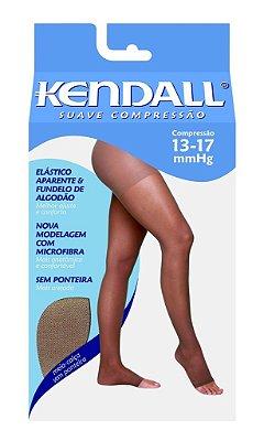 Meia Calça Elástica Suave Compressão Cor Mel da Kendall ref 2651(ponteira fechada) e ref 2261(ponteira fechada)