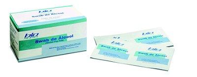Swab de Álcool Caixa Master com 10.000 unidades - Biosoma