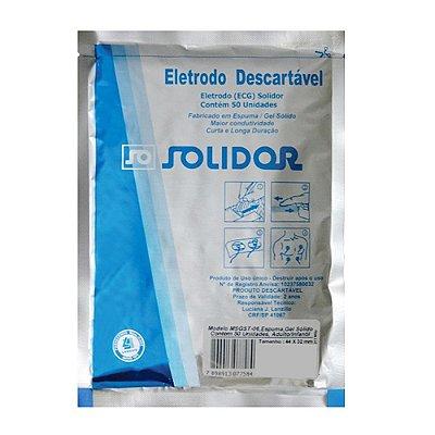 Eletrodo Descartável ECG (50 unidades) - Solidor