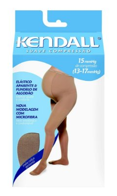 Meia Calça Elástica Suave Compressão Gestante - Kendall 2682 (ponteira fechada) 2683 (ponteira aberta)