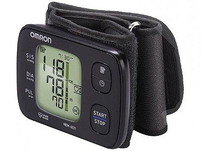 Monitor de Pressão Arterial Automático de Pulso HEM 6221 - Omron