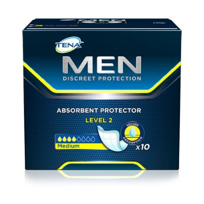 Absorvente Masculino Tena Men Level 2