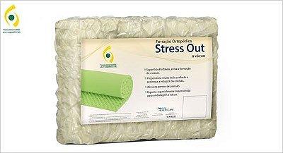 Forração Ortopédica Stress Out à Vácuo (Colchão Caixa de Ovo) - Solteiro - Copespuma