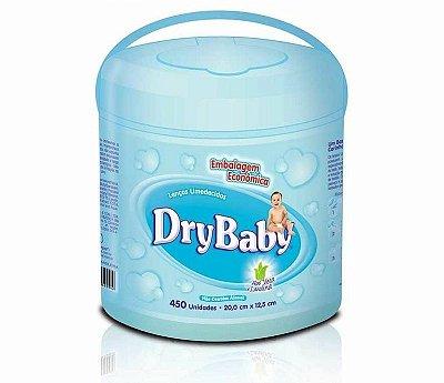 Lenços Umedecidos Dry Baby - 450 unidades