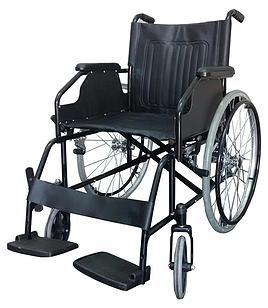 Cadeira de Rodas 1868 - Aço - Mobil Saúde