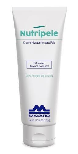 Creme Hidratante para Pele Nutripele - 120g - Mavaro