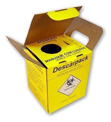 Caixa Coletora de Material Perfurocortante 1,5 L - Descarpack