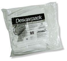 Toucas Descartáveis Descarpack - pacote com 100 unidades