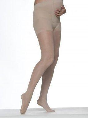 Meia Calça Elástica Gestante AUDACE Compressão 15-20 mmHg Cor Natural Clara Sigvaris 120B