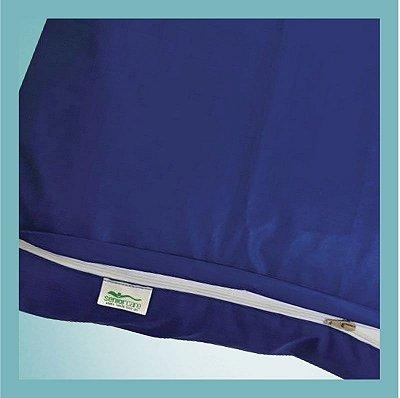 Protetor Courvin para Almofada Caixa de Ovo com Ziper - Senior Care
