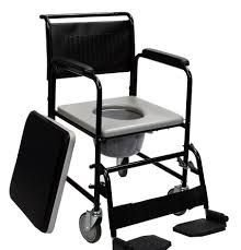 Cadeira Sanitária Higiênica SuperLux Mobil Saúde
