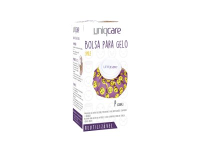 Bolsa para Gelo SMILE (650 ml) - UNIQCARE