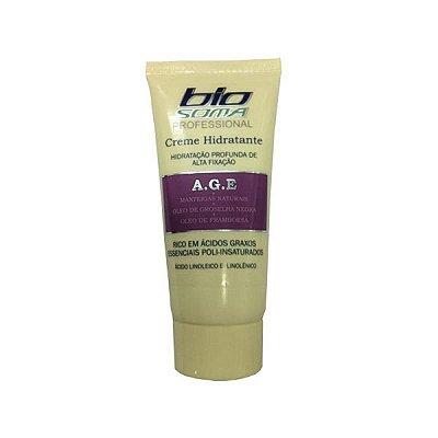Creme Hidratante de Alta Fixação Professional A.G.E 50g - Biosoma