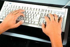 Apoio de Punho para Teclado de Computador - Termogel