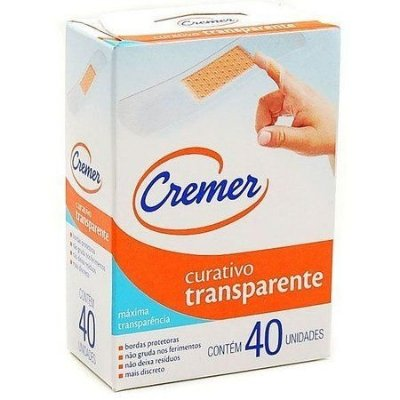 Curativo Transparente 40  unidades - Cremer