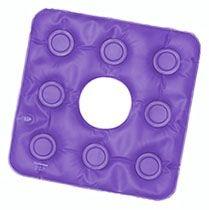 Forração Ortopédica Assento Caixa de Ovo Quadrada com Orifício Gel – BioFlorence