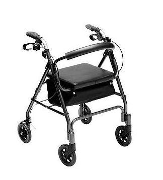 Andador com 4 Rodas Mobil Saúde Ref 1009