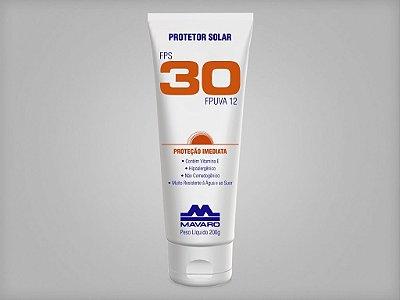 Protetor Solar FPS 30 - 200g - MAVARO