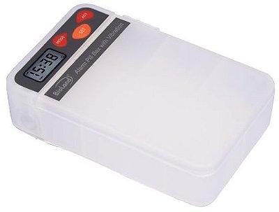 Porta Comprimido com Alarme Sonoro e Vibratório - Bioland