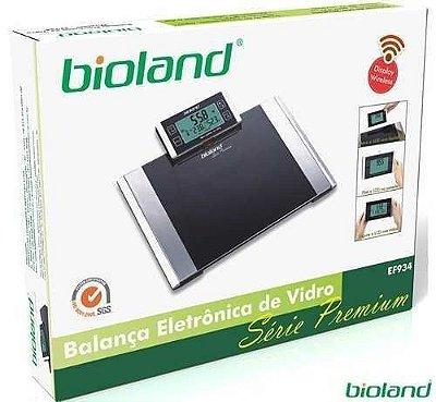 Balança Digital com Monitor de Gordura/ Hidratação Wireless - Bioland
