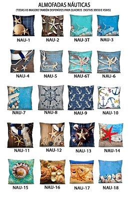 1 Capa - Almofadas Nautica 42x42 - A Escolher