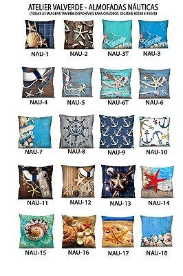 KIT 3 Capas - Almofadas Nautica 42x42 - A Escolher