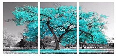 Quadro Digital - Arvore Tiffany  - 100x200 - 3pçs