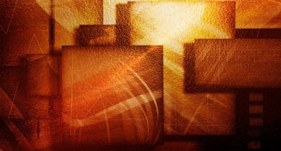 Quadro Abstrato Marrom - Diversos Tamanhos