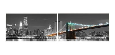 Quadro Nova York Manhattan 55x200