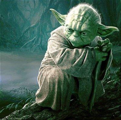 Quadro Mestre Yoda - GK9 30x30