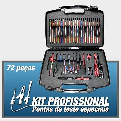KIT Profissional - Pontas de Teste Especiais - 72 peças - Doutor-IE